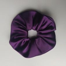Скрънчи в тъмно лилав цвят