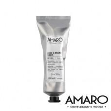Подхранващ и освежаващ балсам за кожа и брада 2 в 1 AMARO  Scin & Beard Balm 2 in 1 - 100ml