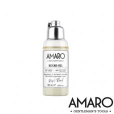 Подхранващо олио за брада с естествени съставки AMARO Beard Oil 100ml