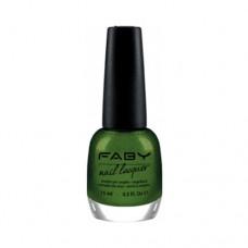 Лак за нокти FABY  Glittering chlorophyll LCF026 - 15ml