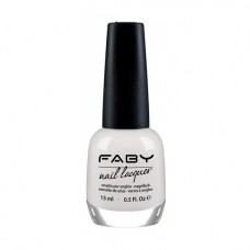 Лак за нокти FABY Optical white LCS100 – 15ml