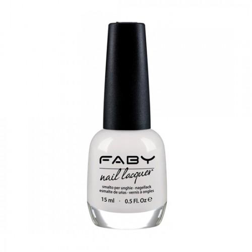 Лак за нокти FABY Optical white LCS100 – 15ml