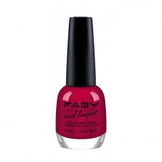 Лак за нокти FABY  Red at night…. LCG015 - 15ml