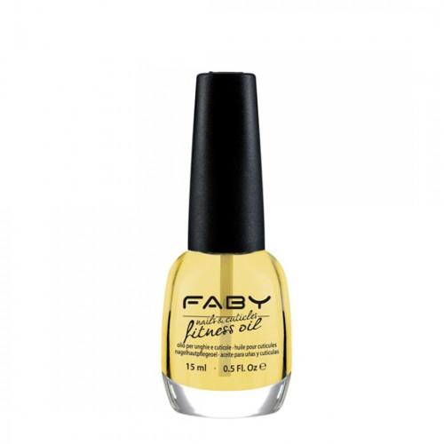 Подхранващо масло за нокти и кутикули  FABY Nails and cuticle fitness oil 15ml