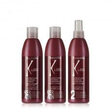 Реконструиращ кератинов комплект за идеално гладка коса FarmaVita K.Liss