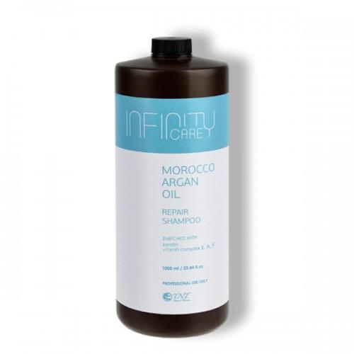 Подхранващ шампоан с арганово масло Infinity Care Morocco Argan Oil Hair Shampoo 1000ml