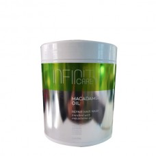 Реконструираща маска с масло от макадамия Infinity Care Macadamia Oil Repair Hair Mask 1000ml