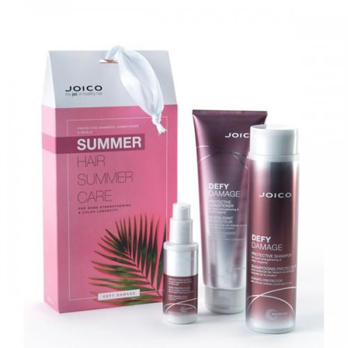 Комплект за изтощена коса с UV защита JOICO Defy Damage