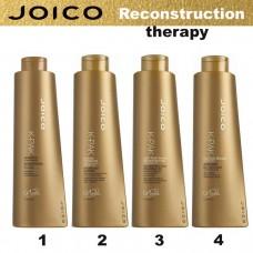 Възстановяваща терапия  за суха и увредена коса JOICO K-Pak Reconstruction Therapy 4x1000ml