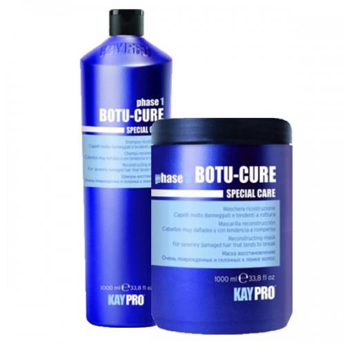 Ботокс комплект шампоан и маска KAYPRO Botu-Cure 2x1000ml