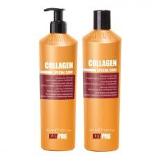 Комплект шампоан и балсам с колаген KAYPRO Collagen 2х350ml