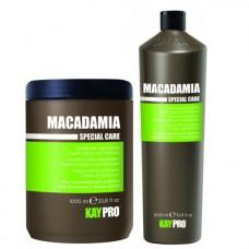 Комплект шампоан и балсам с макадамия KAYPRO Macadamia 2х1000ml