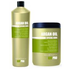Комплект шампоан и маска с арганово масло KAYPRO Argan Oil 2х1000ml