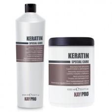 Комплект шампоан и маска с кератин KAYPRO Keratin 2х1000ml