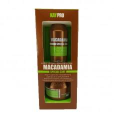 Мини комплект шампоан и балсам с макадамия KAYPRO Macadamia 2х100ml