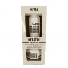 Мини комплект шампоан и маска с кератин KAYPRO Keratin 2х100ml