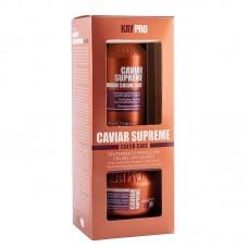 Мини комплект шампоан и маска за боядисана коса с хайвер KAYPRO Caviar Supreme 2х100ml