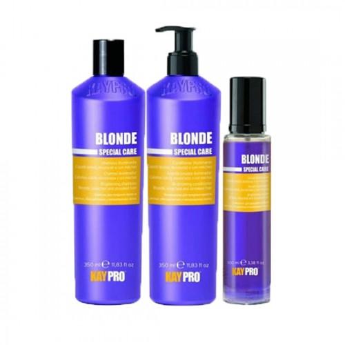 Сапфирен комплект за неутрализиране на жълтите оттенъци KAYPRO Blonde