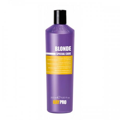 Шампоан за неутрализиране на жълтите оттенъци със сапфир KAYPRO Blonde Shampoo 350ml