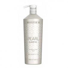Балсам за луксозен блясък на руса коса Selective Professional  Pearl Sublime Ultimate Luxury Balm 1000ml