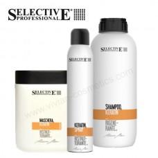 Комплект шампоан, маска и спрей с кератин Selective Professional Artistic Flair Keratin