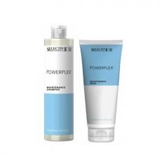 Поддържащ комплект шампоан и маска Selective Professional Powerplex Shampoo and Mask