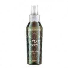 Подхранващ еликсир с конопено масло за всеки тип коса Selective Professional  Hemp Sublime  Ultimate Luxury Elexir 100ml