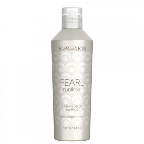 Шампоан за луксозен блясък на руса коса Selective Professional Pearl Sublime Ultimate Luxury Shampoo 250ml