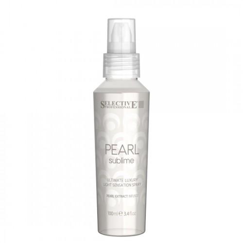 Спрей за луксозен блясък на руса коса Selective Professional Pearl Sublime Ultimate Luxury Light Sensation Spray 100ml