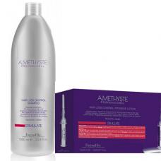 Комплект ампули и шампоан за стимулиране на растежа и против косопад FarmaVita Amethyste Stimulate