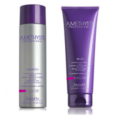 Комплект маска и шампоан за  боядисана коса FarmaVita Amethyste Color 2x250 ml