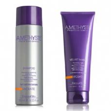 Комплект маска и шампоан за суха и изтощена коса FarmaVita Amethyste Hydrate 2х250ml