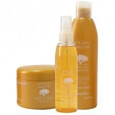 Комплект шампоан, маска и елексир с арганово масло FarmaVita Argan Sublime Oil