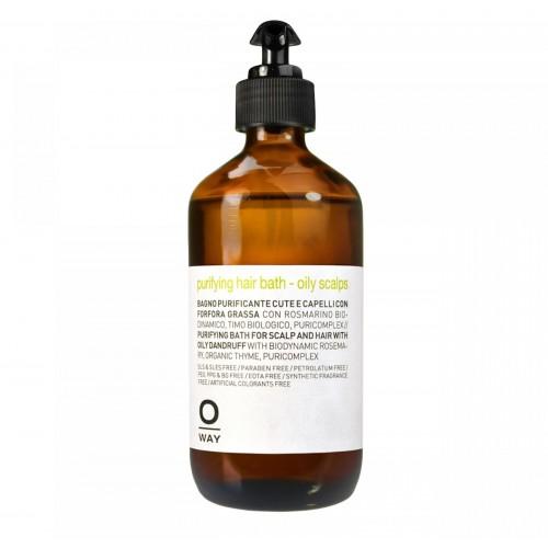 Шампоан против пърхот за мазен скалп O'Way No Dandruff  Purifying hair bath - oily scalps 240 ml