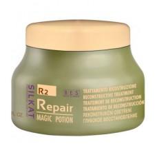 Възстановяваща маска за коса с кератин, арганово масло и макадамия BES Silkat Repair Magic Potion 500 ml